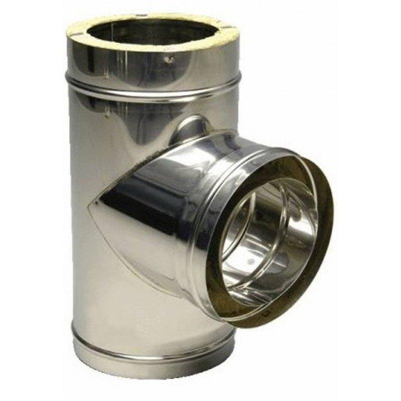 Тройник дымохода 130 200 купить щетку для чистки дымохода в минске