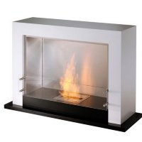 Биокамин EcoSmart Fire Oxygen Black/White satin [07219]